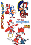 Sonic-Game Gear Goodness by spongefox