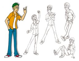 Herb Poses by TR-the-Animator