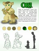 Reference Sheet - Ori by Lhumina