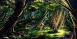 TLE_forest concept1 by Luaprata91