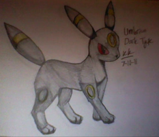 Umbreon 197 by PalmTreeFromHell