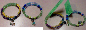 Bracelets with charms and tagged by lcponymerch