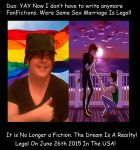 Gay Marriage No Longer A Fiction by DuoSmexyMaxwell