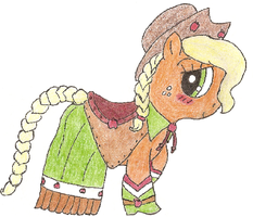 Gala Apple - Hand drawn by ItsTheWhinyGuys