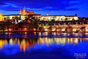 Prague at Night by Nitrogliserin