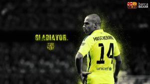 Javier Mascherano 2015 Wallpaper HD by SelvedinFCB