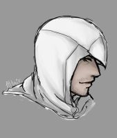 AC_An_Eagles_vision_Altair by LuCiFelLo