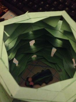 Detail of Paper Hive by Jagaroth