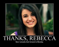 Rebecca Black Motivation by keep-me-posted