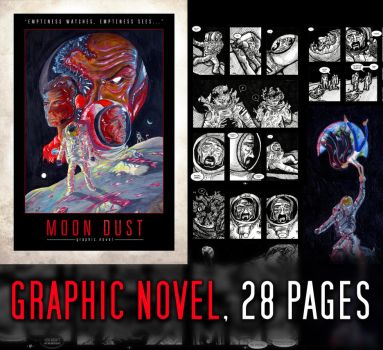 Moondust - Graphic Novel (Sci-fi/Horror/Drama) by nicolaykoriagin