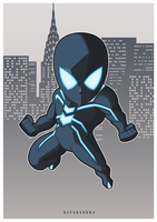 Stealth Suit Spider Man by bayubaruna
