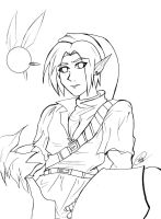 link lineart by WinterSpectrum