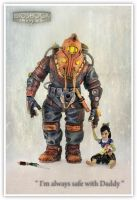 Bioshock S.D and the little one by shatinn