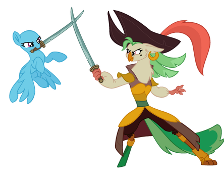 MLP Base- Sword fight by alari1234-Bases