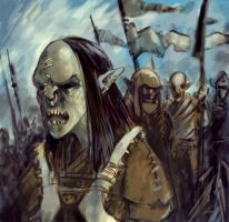 Some orcs by animationgorilla
