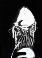 Ood Doctor Who by 4StarsChicago