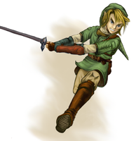 Link- The legend of Zelda by EleanorAnsell