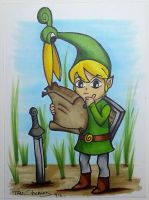 Link - The Legend of Zelda by TaliShemes