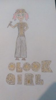 Clock Girl, Color Me in Serenity by MrARKY89