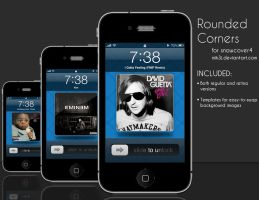 Rounded Corners for SnowCover4 by mik3j