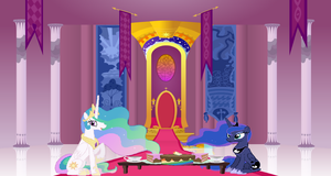 Having a tea party... (REQUEST) by XXxPrincess-LunaxXX