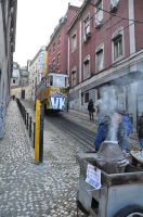 chestnuts and tram - essential Lisbon by Rikitza