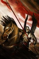 The Winged Hussar by JSfantasy