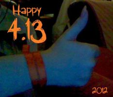Orange Ribbon 4.13 by TheDeathGirl