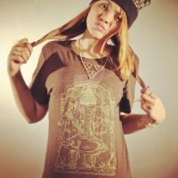 Gold Ganesh Unisex Tee2 by piratesofbrooklyn
