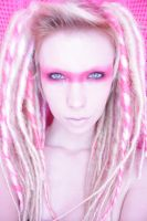 pink dread stock 3 by LadyStarDustxx