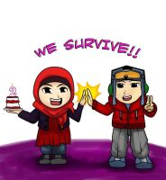 We survive!! by Gagasize