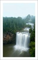 Dangar Falls In Fog by Cameron-Jung