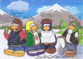 The Penguin Band by LiliDoGelo