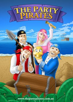 Party Pirates Poster by conkrys