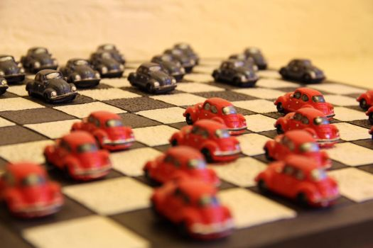VW Bug checkers by Dolf315