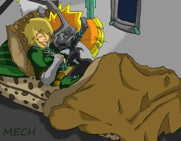 Link and Midna by Mechamatteo