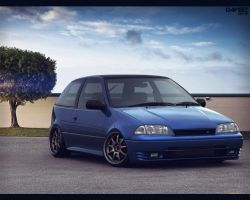 Suzuki Swift GTi by daveezdesign