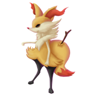 Pokemon Collab: Braixen. by Ingoro