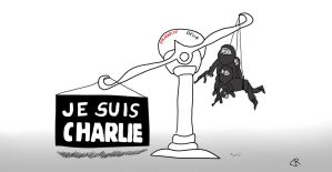 Hommage a Charlie Hebdo by Ultima-LionHeart