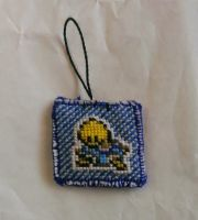 Shiny Shuckle Keychain Charm (Front) by Kai-Skynote88