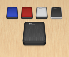 WD MyPassport Hard Drive icon by Heliogon