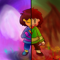 Undertale: Angels and Demons (finished) by CouchpotatoPZ1