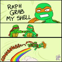 RAPH GRAB MY SHELL by juliefofisss