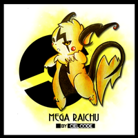 Fake Mega Raichu by CielCode