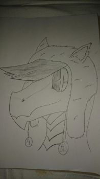 A new hat(Uncolored) by elitghost