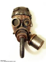 Steam Punk Steam Mask II by ben9378
