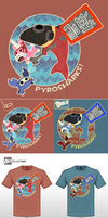 TF2 - Pyroshark Shirt by Dragonith