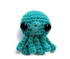 Blue Octopus by tinyowlknits