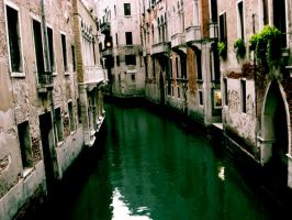 Antique Canal by elix-a-lizard