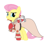 Fluttershy - Scream Fortress 2014 by Avastindy